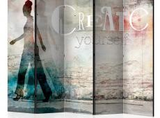 Paraván - Create yourself II [Room Dividers]